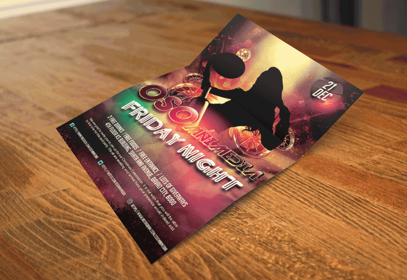 Promotional Flyers and Event Posters