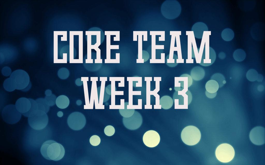 Core-Team-Week-3
