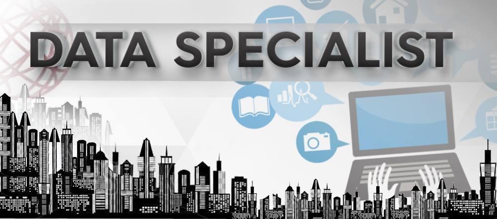 Job Opportunities: Data Specialist