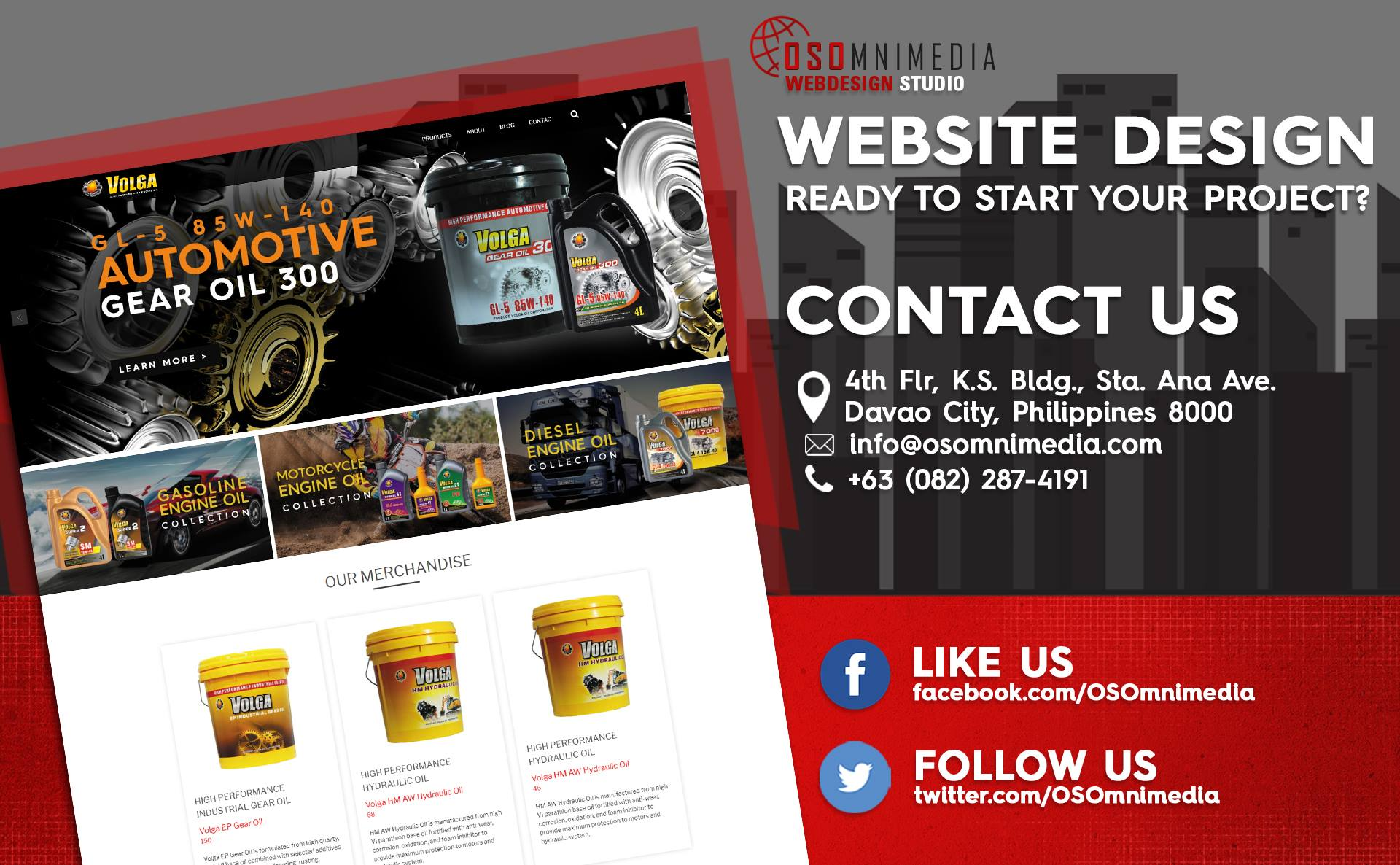 Website Design/Development Project