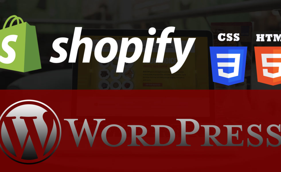 The Best Use of WordPress, Shopify and HTML+CSS by Via