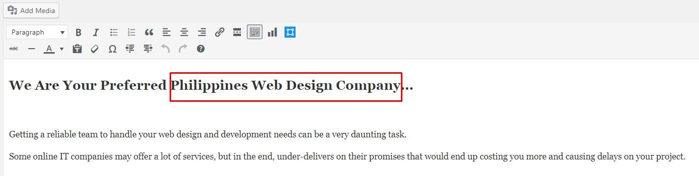 Wordpress Blog Content Optimization