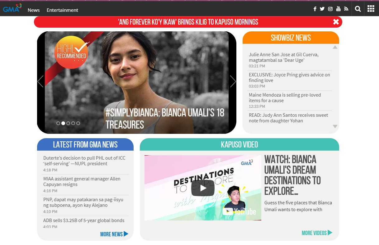 GMA Network Portal - Online Home of Kapuso Shows and Stars