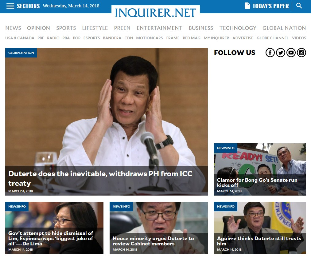 Inquirer.net - Philippine News for Filipinos
