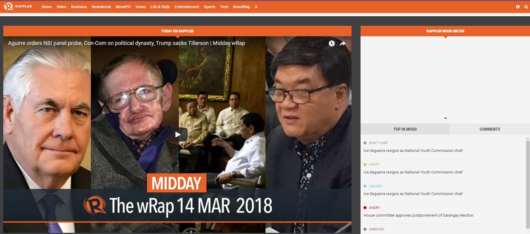 Rappler News Multimedia Citizen Journalism Social Media