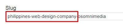 URL Slug HTML Link Optimization