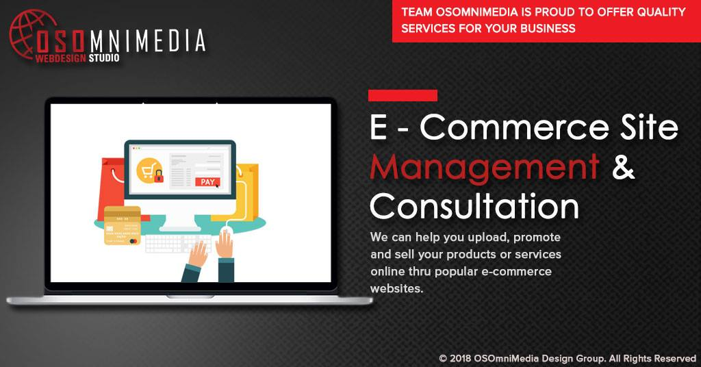 E-Commerce Site Management And Consultation