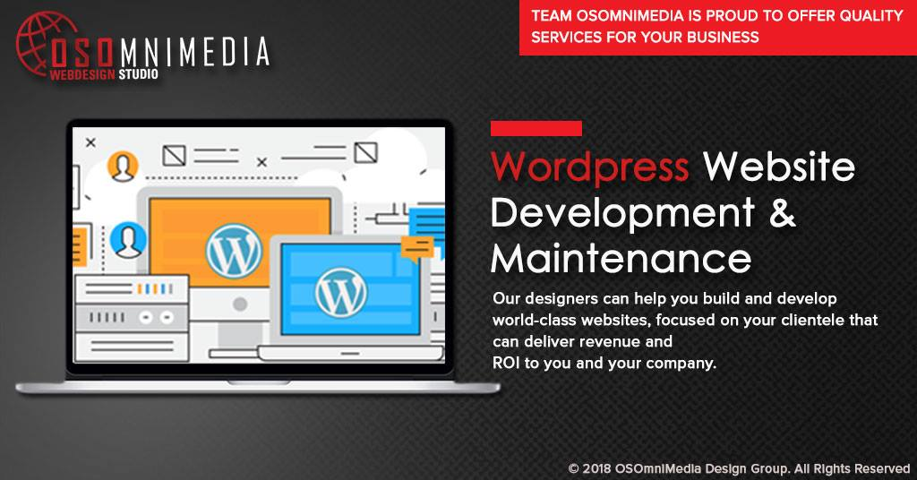 Wordpress Website Development And Maintenance