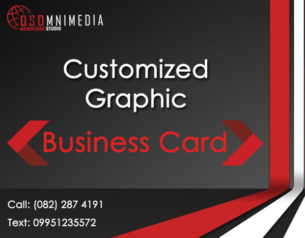 Osomnimedia Custom Design Service for Business Card