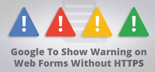 OSOmniMedia - Warning on Web Forms Without HTTPS