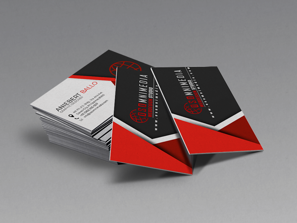 Osomnimedia - Business Card Sample