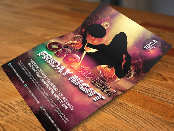 Osomnimedia - Flyers Sample