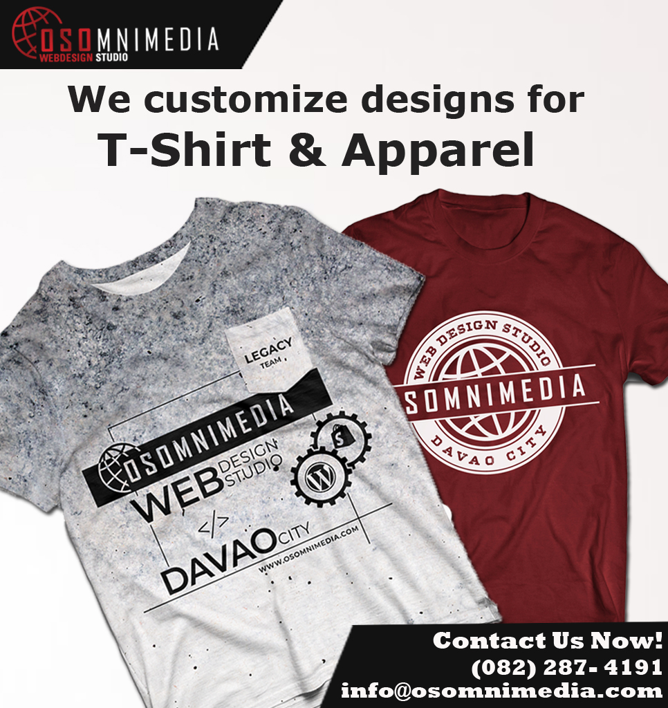Customized For Your T Shirts Uniforms For Any Occasions In Davao City