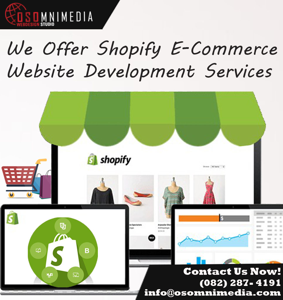 OSOmniMedia - Customized Shopify Store in Davao City
