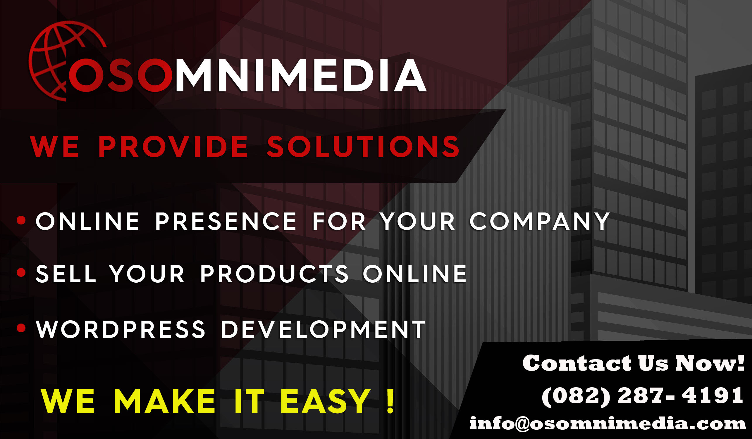 OSOMniMedia E-commece and WordPress Website Packages