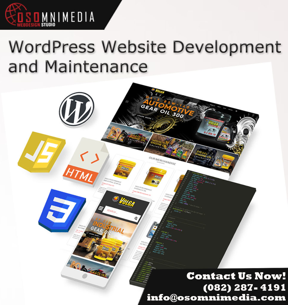 OSOMniMedia - Worpress Website Development and Maintenance