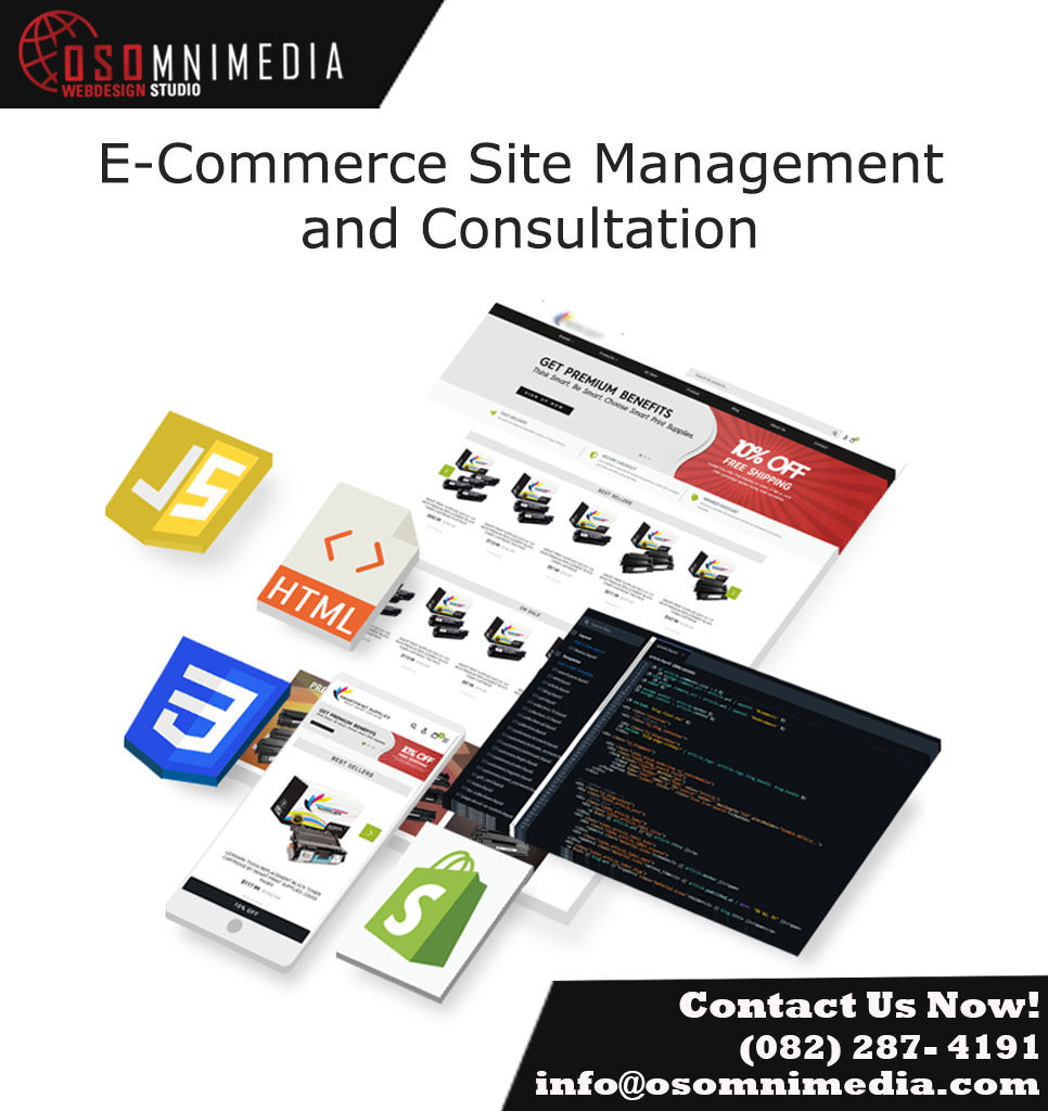 OSOmniMedia Shopify E-commerce Services