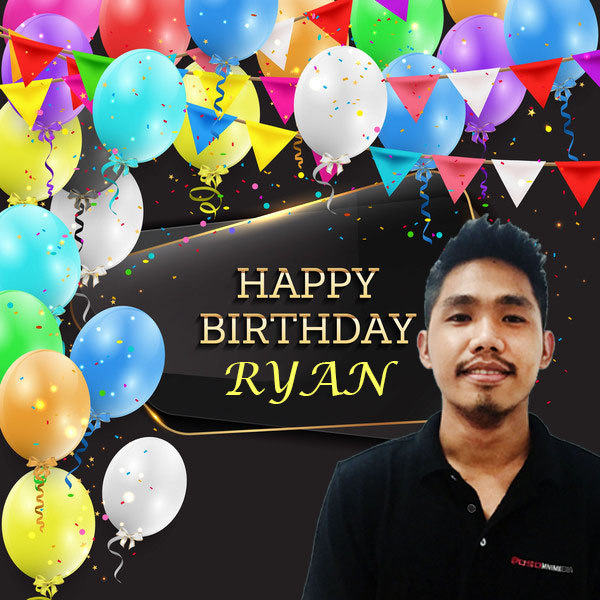 Happy Birthday Ryan! – OSOmniMedia Web & Graphic Designer / Member of the Legacy Team