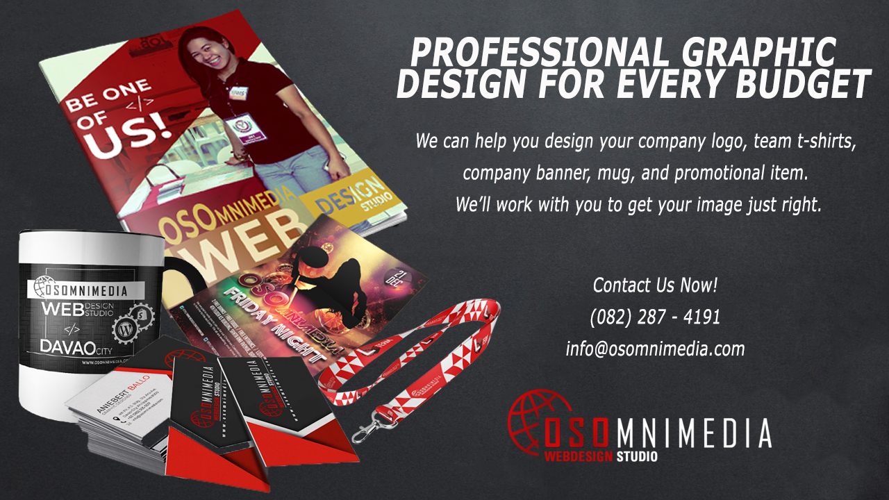 OSOMniMedia Graphic Design Services