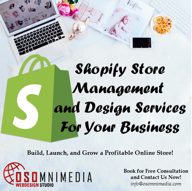 OSOMniMedia Shopify Store Management Services