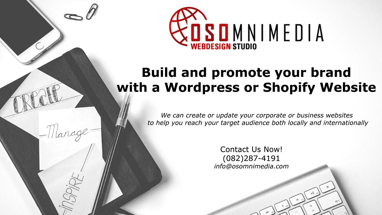 OSOMniMedia Creative Website Design Services