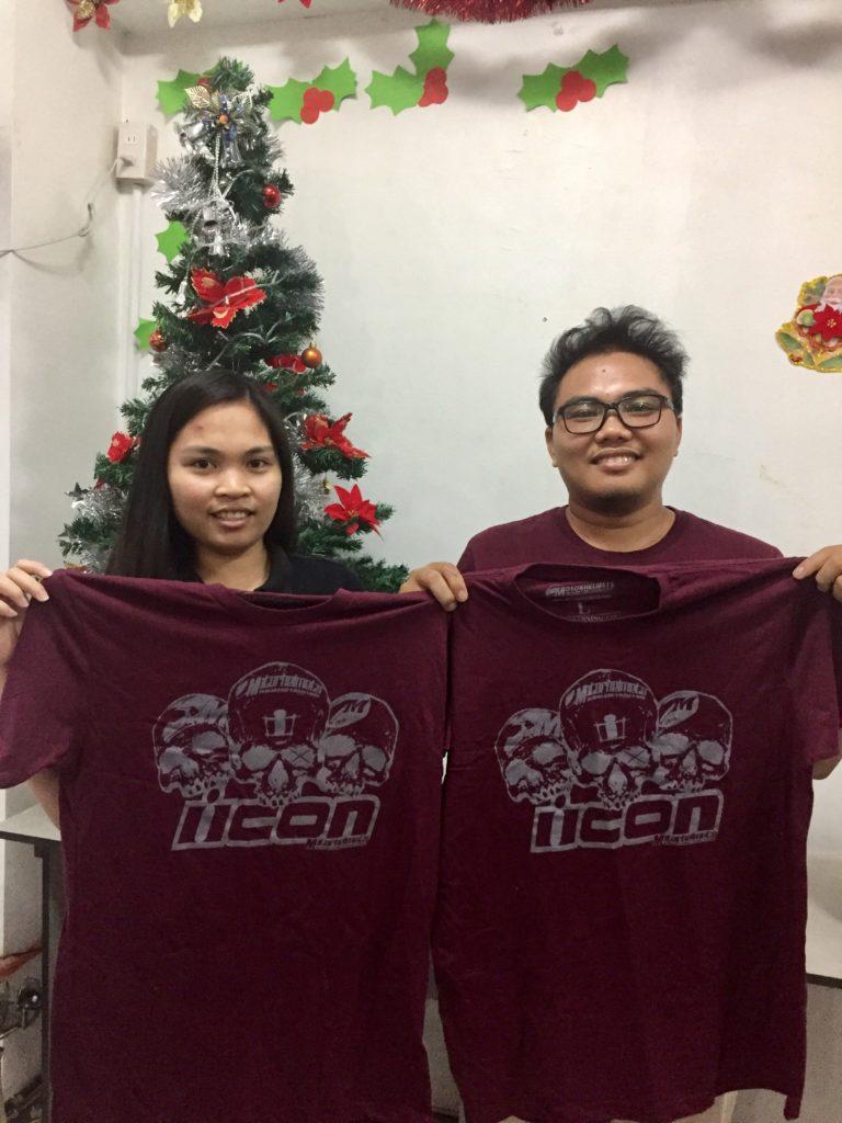 Team leaders Aileen Pomento-Evangelista & Kenneth Nagayo were chosen as the Best Communicators of the team