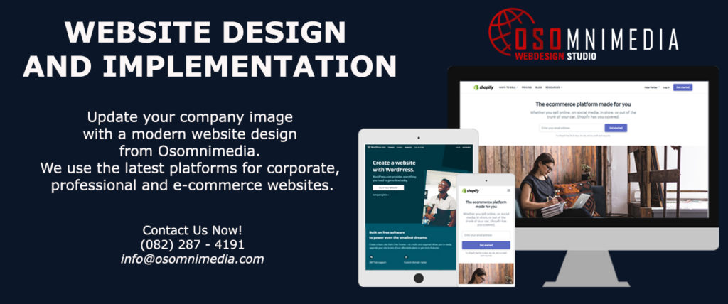 OSOMniMedia Website Design and Implementation Services