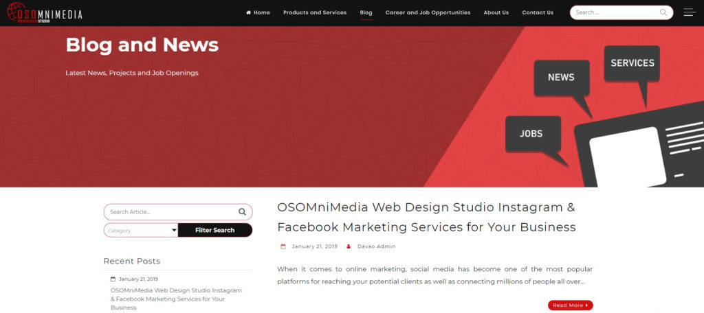 OSOmnimedia Blog and News Page