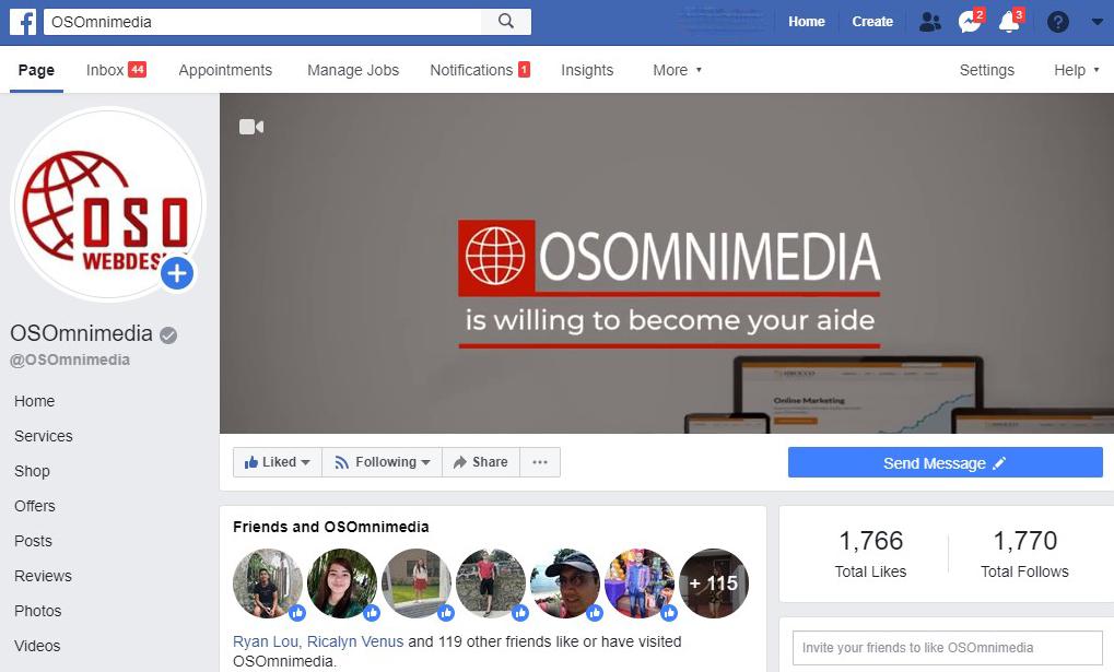 OSOmnimedia Facebook page
