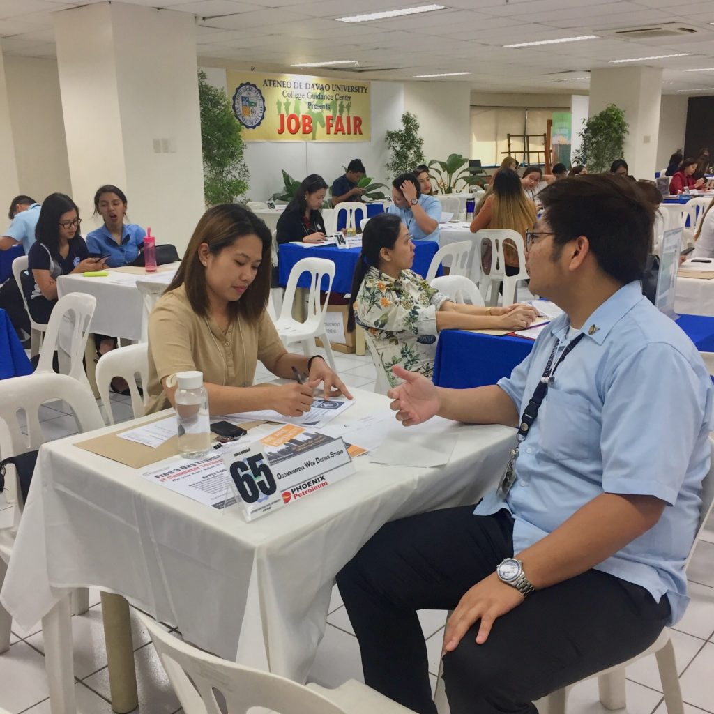 OSOmnimedia joints ADDU job fair 2019