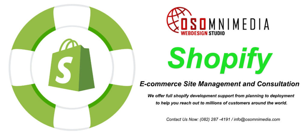 Shopify E-Commerce Site Management Support Company