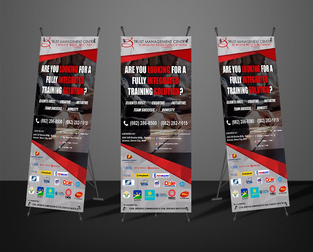 TMC Standee Banner designed by OSOmnimedia