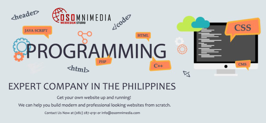 OSOmniMedia Web Programming Expert Company in Davao City, Philippines