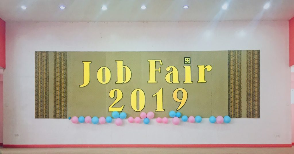 Job Fair 2019 at the University of the Immaculate Conception (UIC)