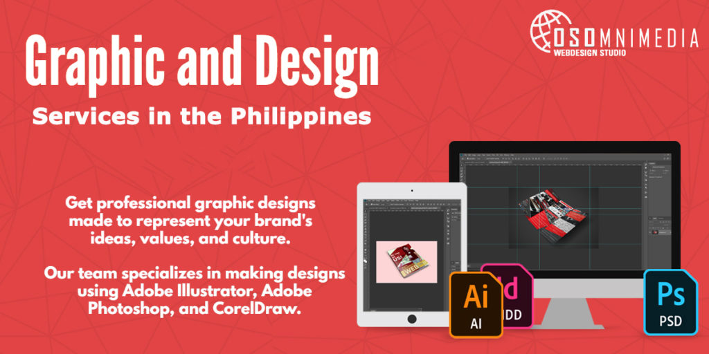 Graphic and Design Services from OSOmnimedia Web Davao Philippines