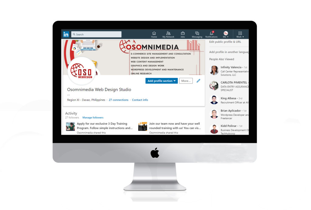 OSOmnimedia LinkedIn Marketing