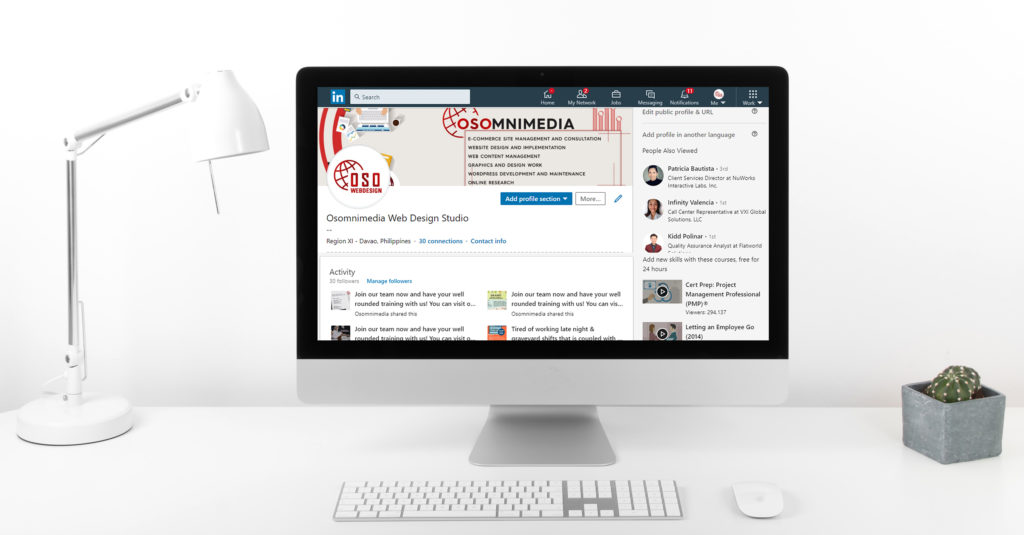 OSOmnimedia LinkedIn Marketing services
