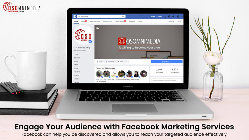 Engage Your Audience with Facebook Marketing Services from OSOmnimedia Web Davao Philippines