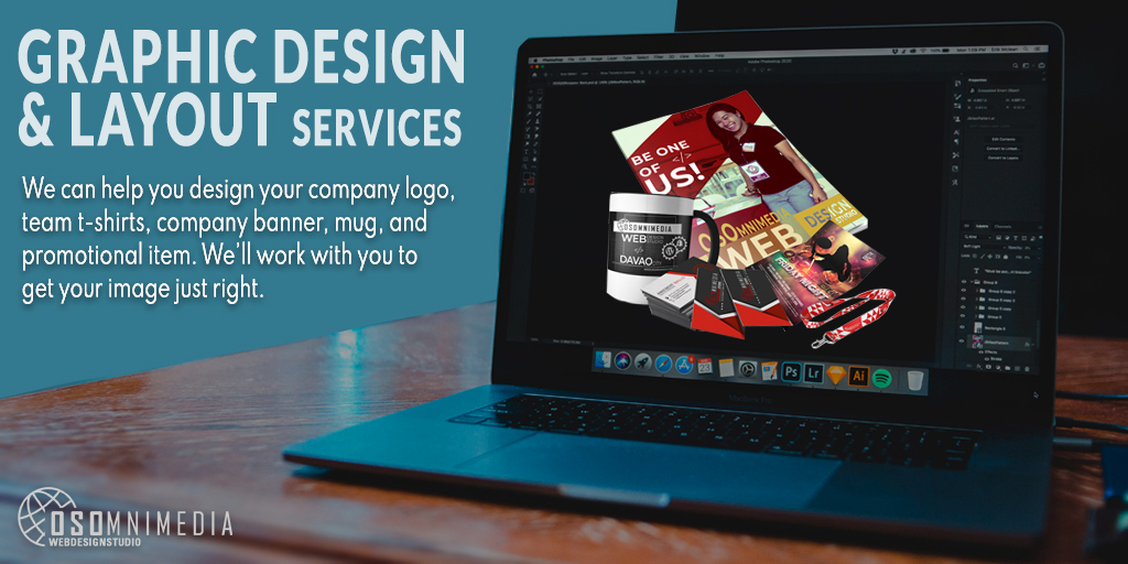 We Offer Creative Graphic Design and Layout Services from OSOmnimedia Philippines