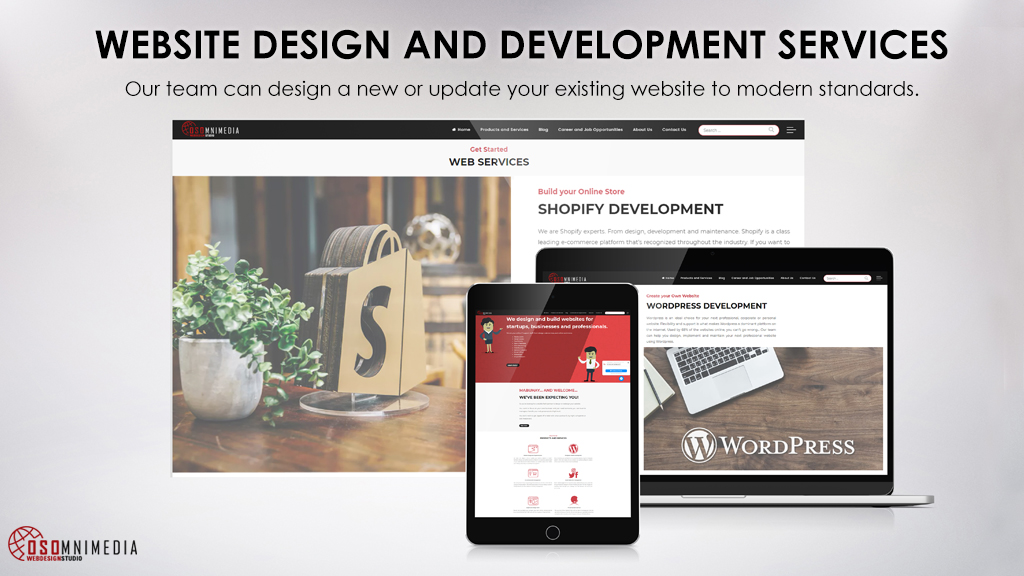 Davao City Website Design Services From Osomnimedia Philippines
