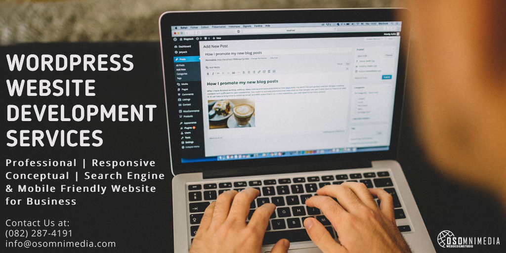 WordPress Website Design Services from OSOmnimedia Agency Philippines