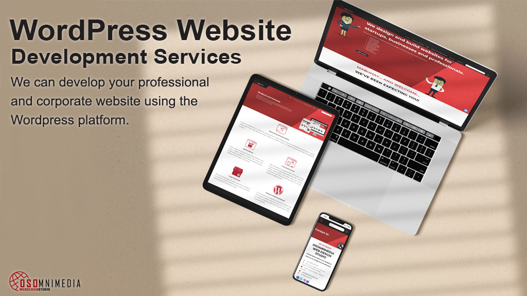Responsive WordPress Website Development Services