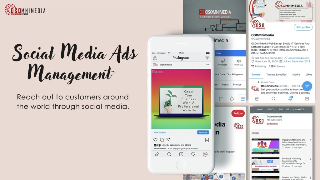 Social Media Advertising & Management Services from OSOmnimedia Group Philippines