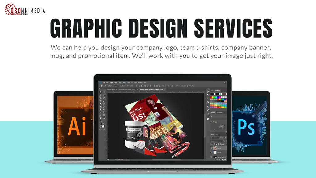 Graphic Design Services For Your Business from OSOmnimedia Group Philippines