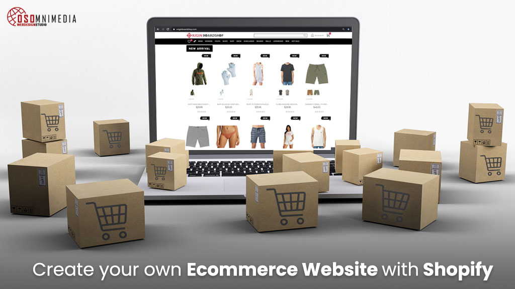 Create Your Own Ecommerce Website with Shopify from OSOmnimedia Web Philippines
