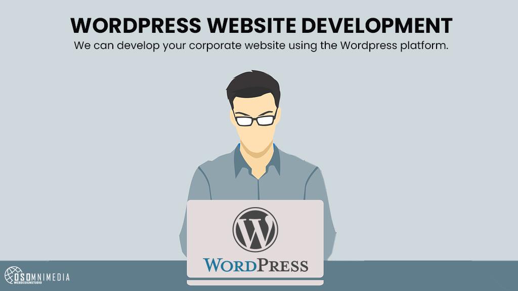 Create Corporate Website With WordPress | OSOmniMedia Website Development Services in the Philippines