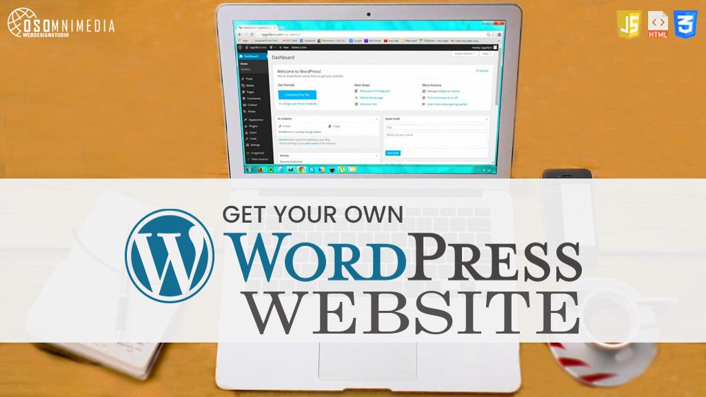 GET YOUR OWN WORDPRESS WEBSITE! | OSOMNIMEDIA WEB DEVELOPMENT SERVICES IN THE PHILIPPINES