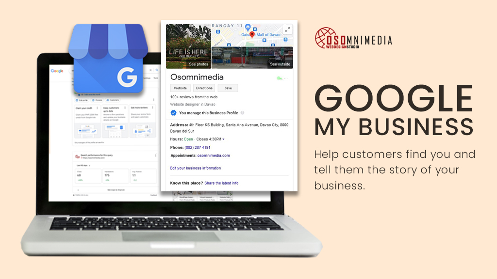 Manage Your Business Profile on Google | OSOmnimedia's Google My Business Services in the Philippines